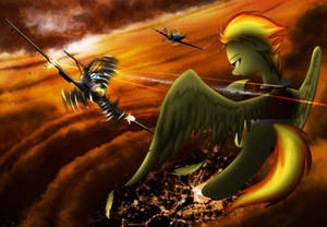 Dog fighting : Spitfire vs Bf 109