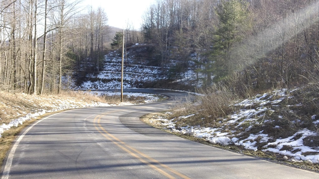 Winding Mountain Road by p38lightning7