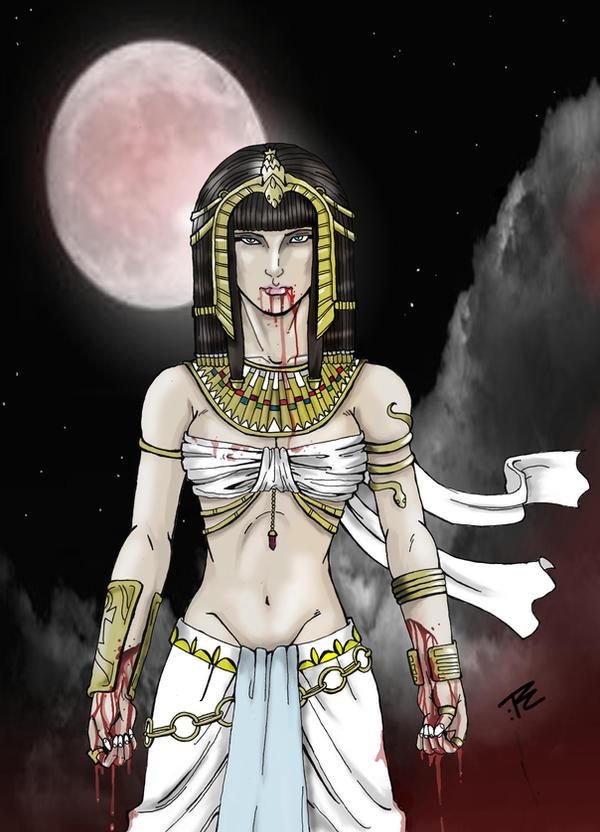 RETRATOS DE VAMPIROS - Página 2 Queen_of_the_damned_by_nightink_rcart-d42ceav