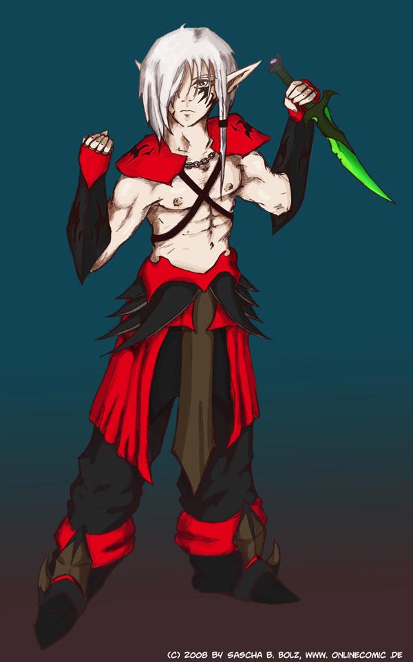 Nightelf Assassin by Neyus