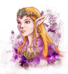 Princess Zelda by RiehlART