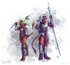 Cat Warriors by RiehlART