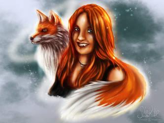 Foxy Lady by RiehlART