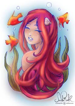 Neon Mermaid