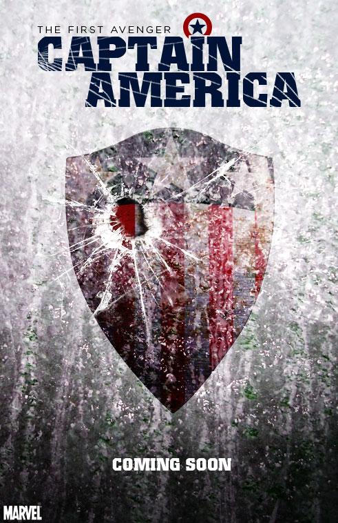 Captain America Movie Poster 2 by kenjameskustoms