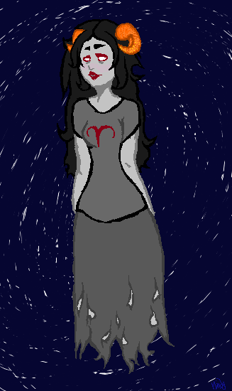 Aradia Megido pixel by Mindy514