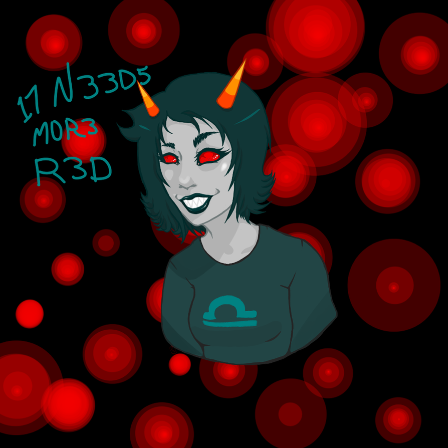 17 N33D5 M0R3 R3D by Mindy514