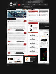 Gaming webdesign project