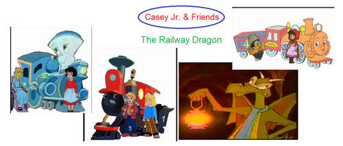 Casey Jr. and Friends: The Railway Dragon