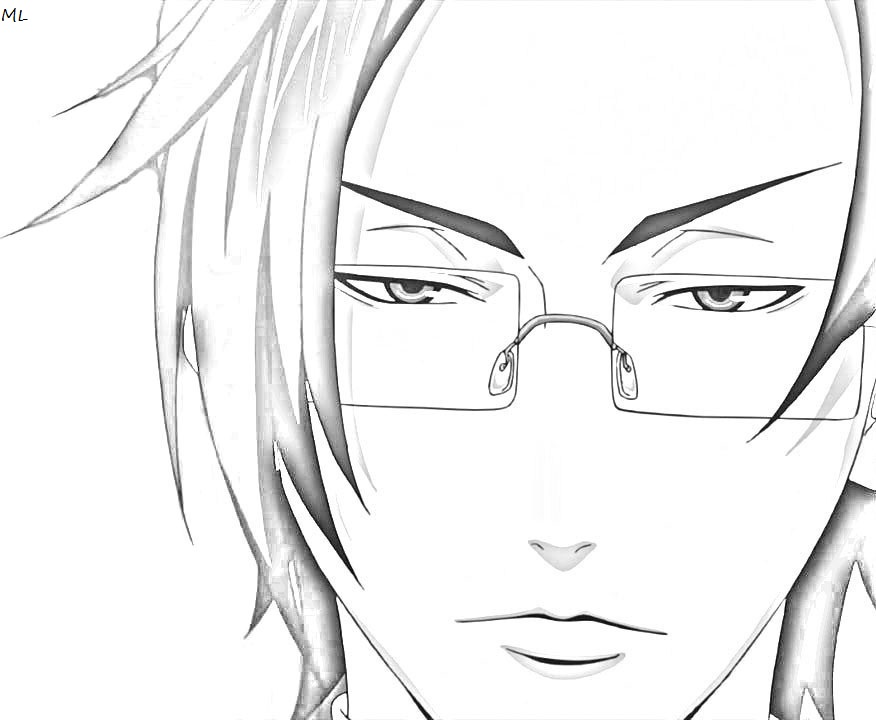 kuroshitsuji lineart by adventmaromaro. black butler ciel and ...