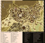 Map of Palakar during the Dark Ages