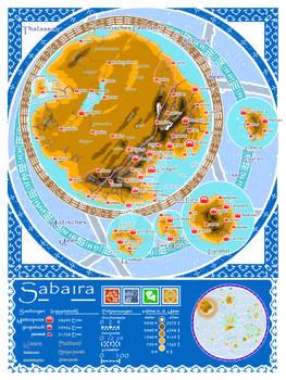The Blue Atlas - Sabaira