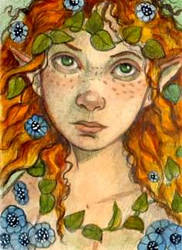fairy aceo by WhimsicalMoon