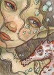 Mermaid and Sea Horse