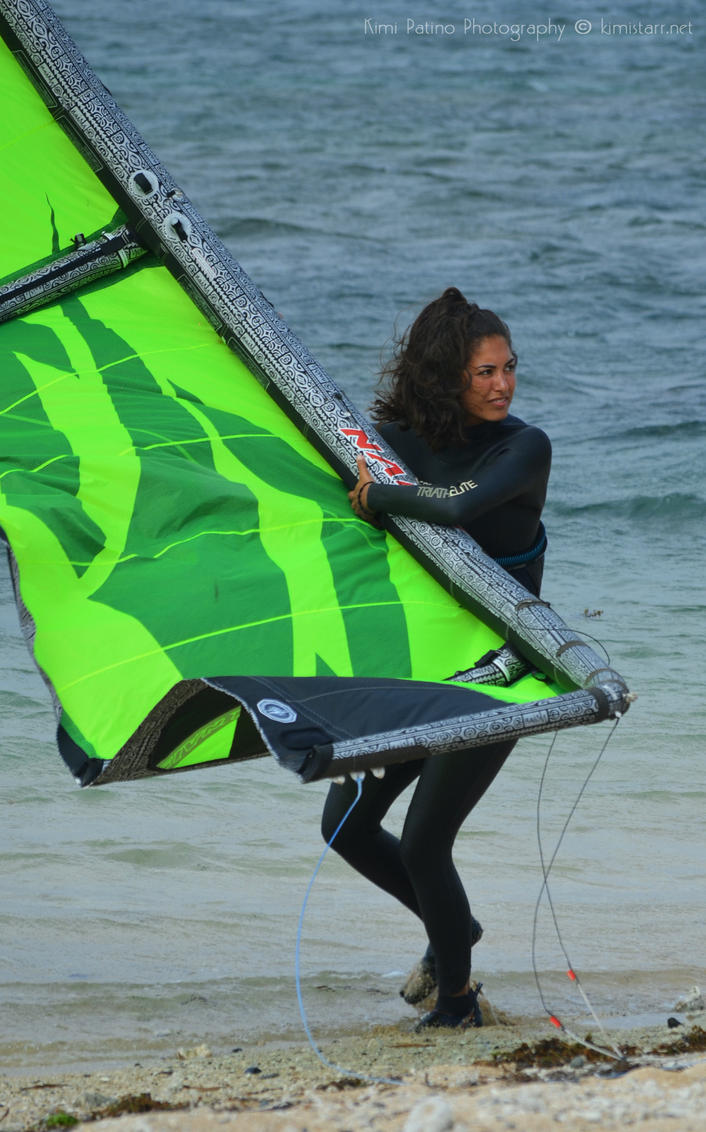Kitesurfers I by xxkimistarr