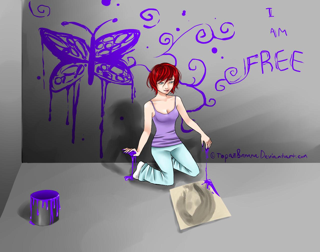 Paint it Purple by TopazBanana