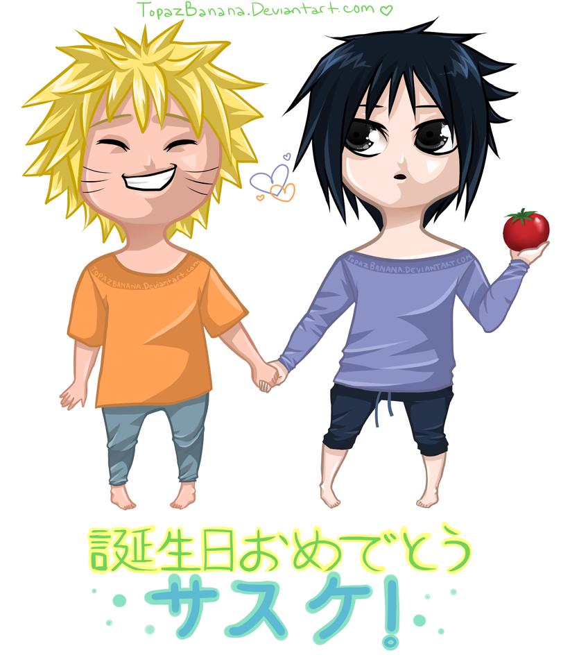 Happy Birthday, Sasuke! by TopazBanana