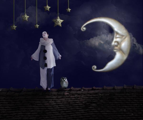 Pierrot Lunaire by meaniebeanie