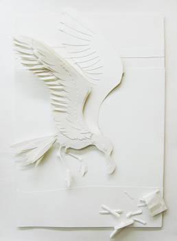 Paper Craft Seagull
