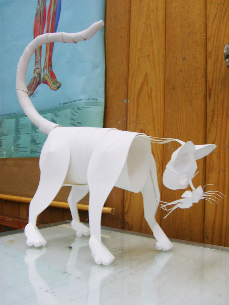 Papercraft Animal by swordtosoul