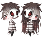 Xel and Lex Pixel by Reverrii