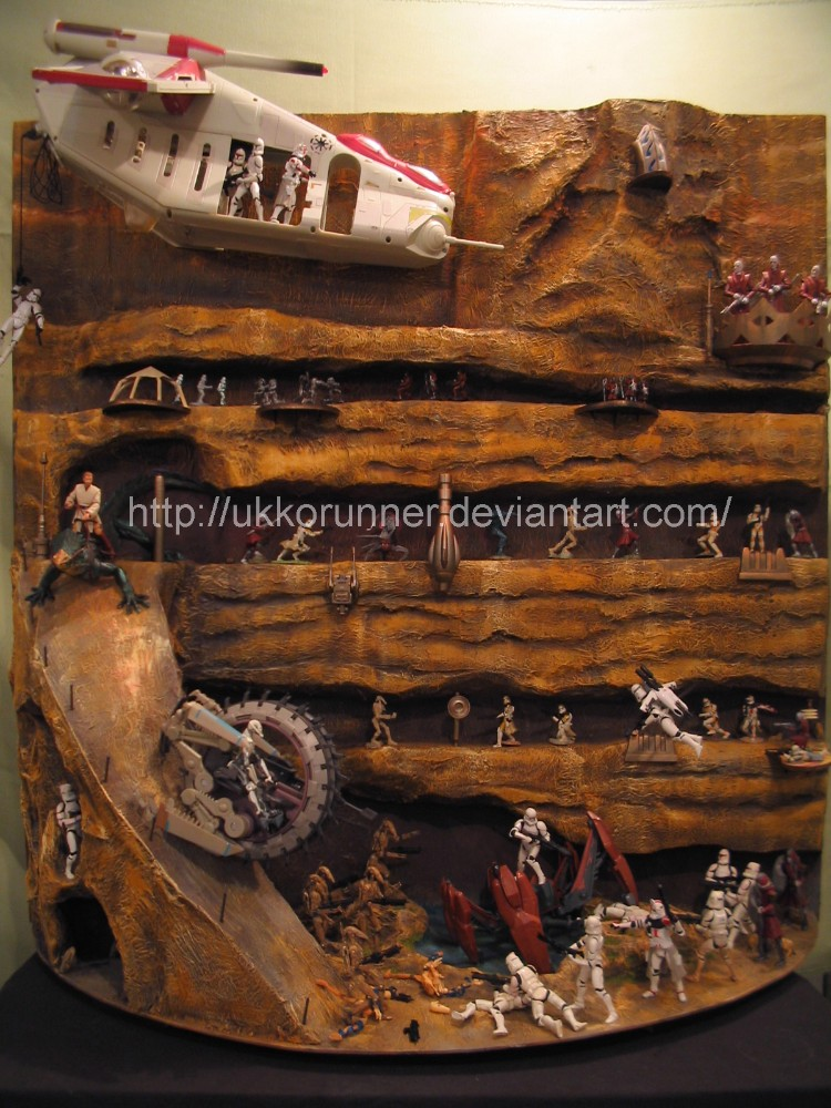 Battle of Utapau by UkkoRunner