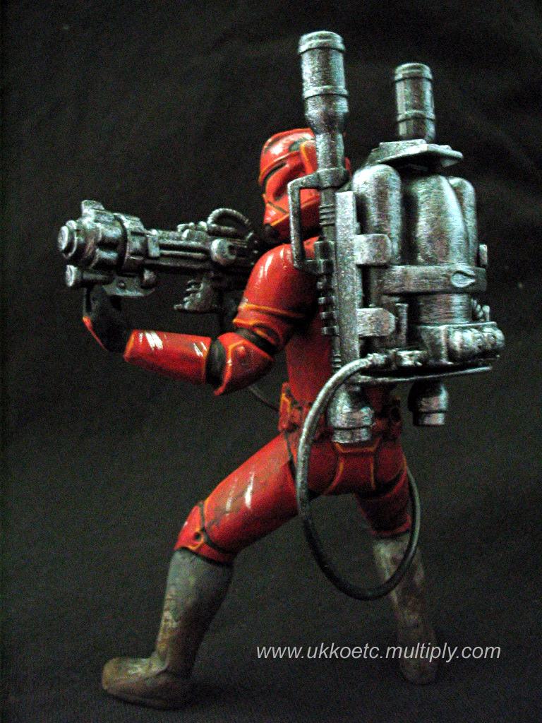 Clone Firetrooper 1 by UkkoRunner