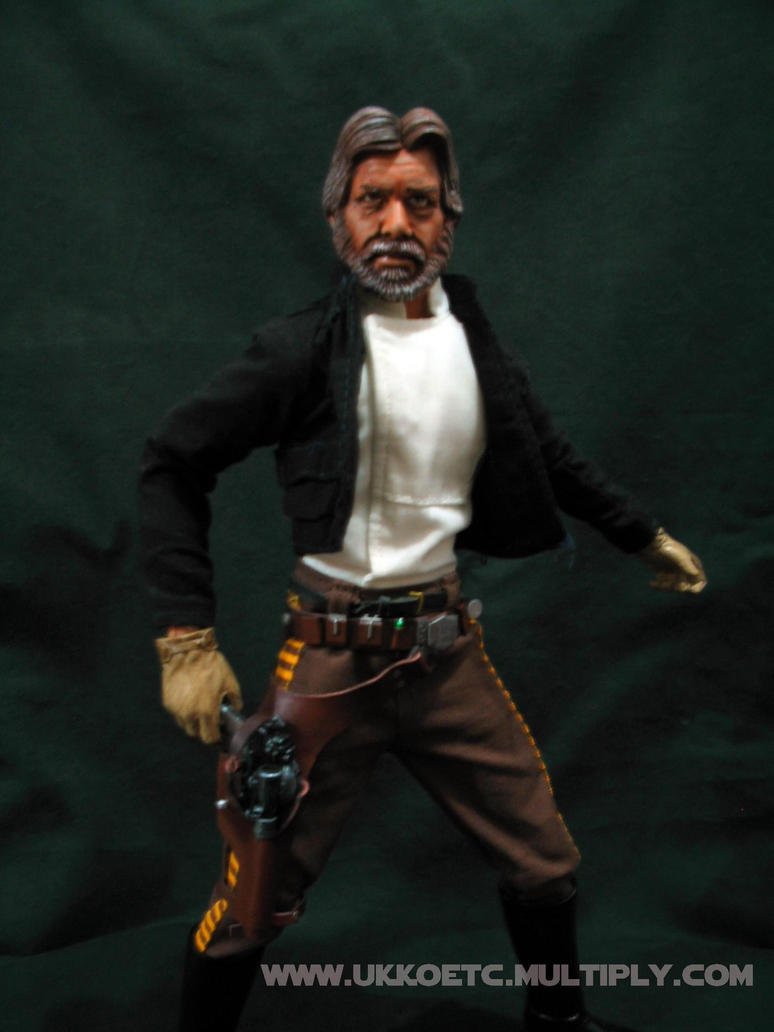 Old Han Solo 04 by UkkoRunner