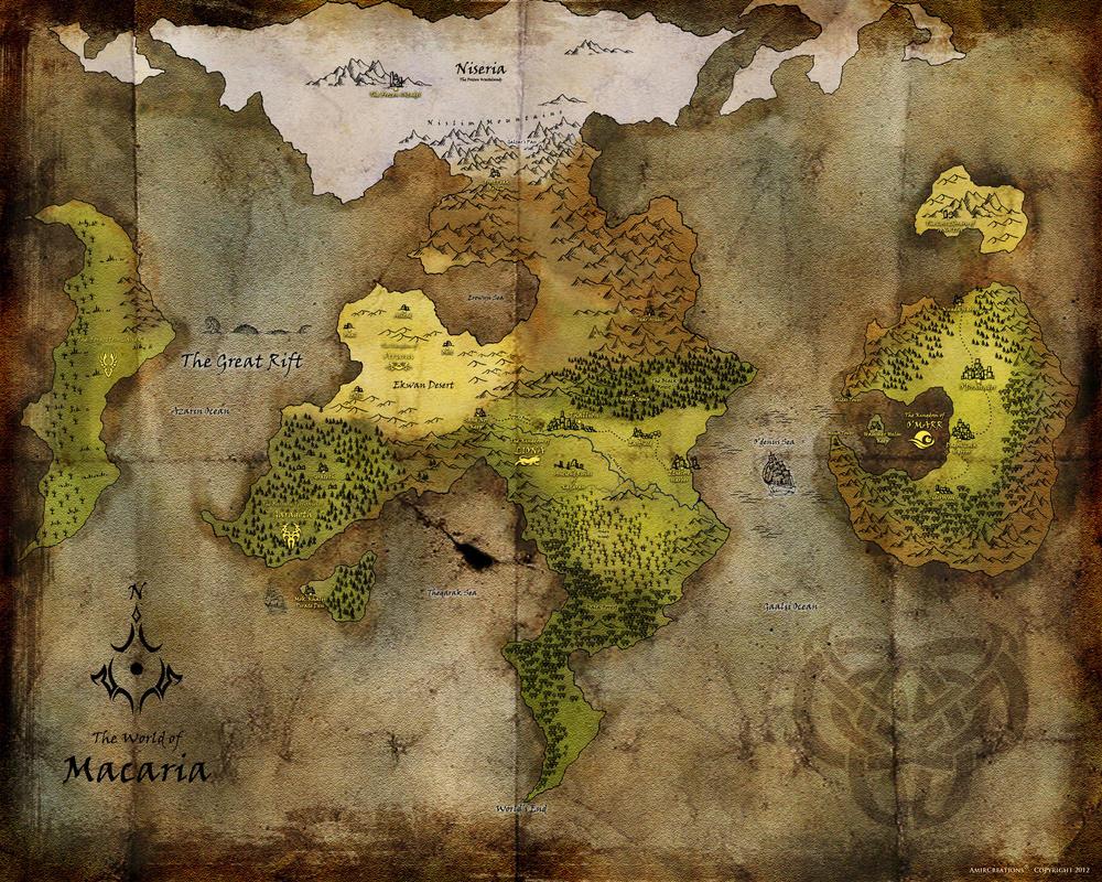 Fantasy Map - Rakzb