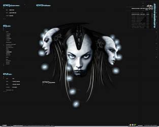 Shiimera Theme Screenshot by Normality