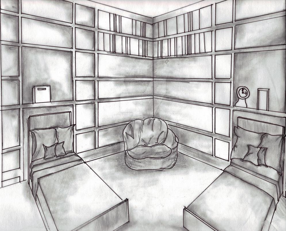 Bedroom drawing for kids - Bedroom Drawing For Kids 33
