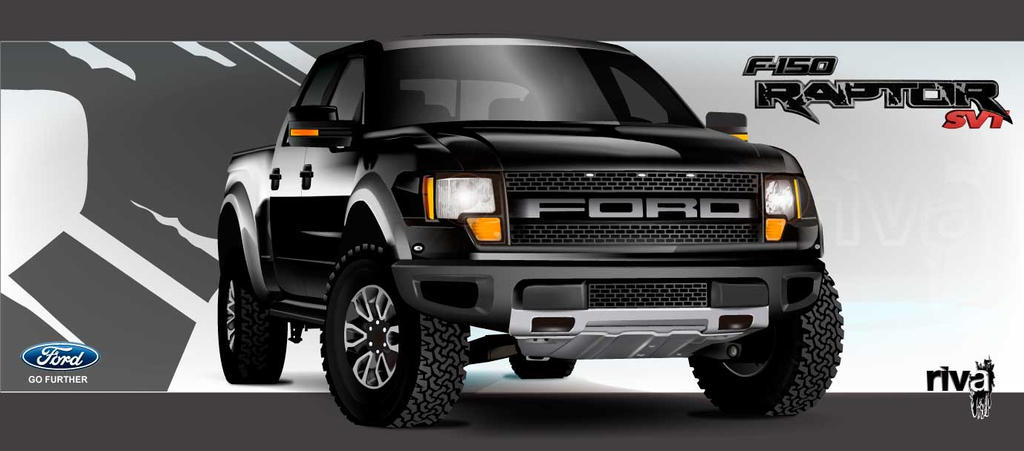 Ford raptor f150 by peisi on deviantart ford raptor f150 by peisi freerunsca Choice Image