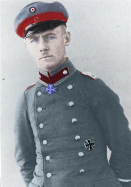 WW1 Rommel Colored by desca97