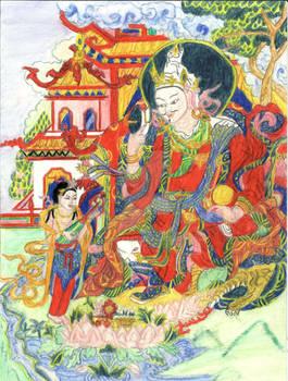Thangka Padmasambhava, Padma Gyalpo