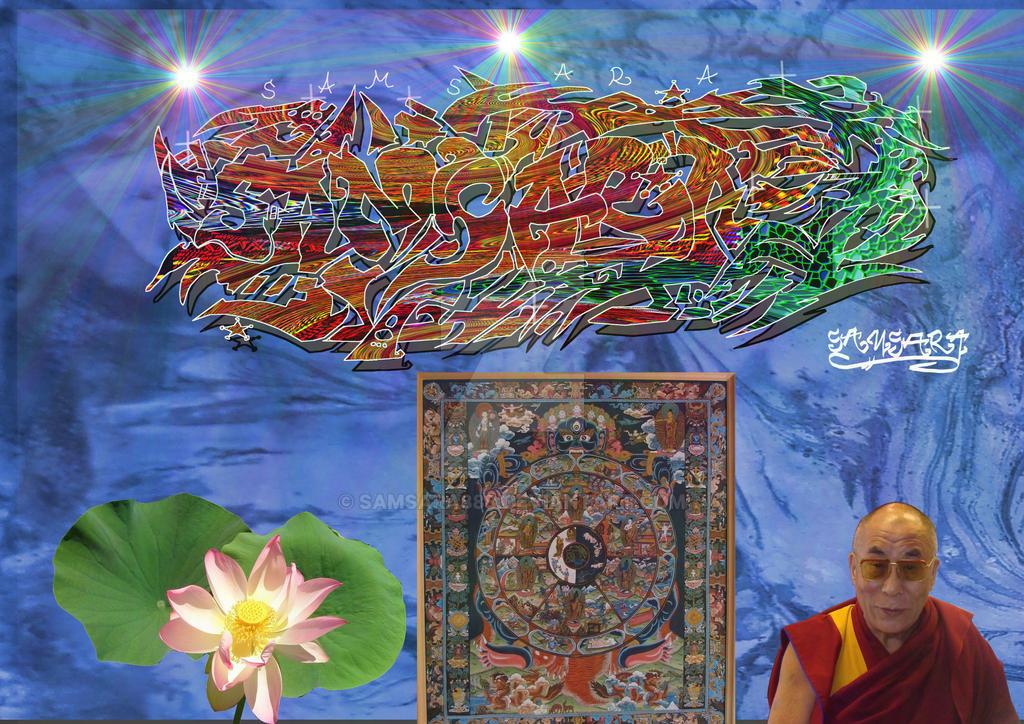 Samsara-4 by Lotuskunst94