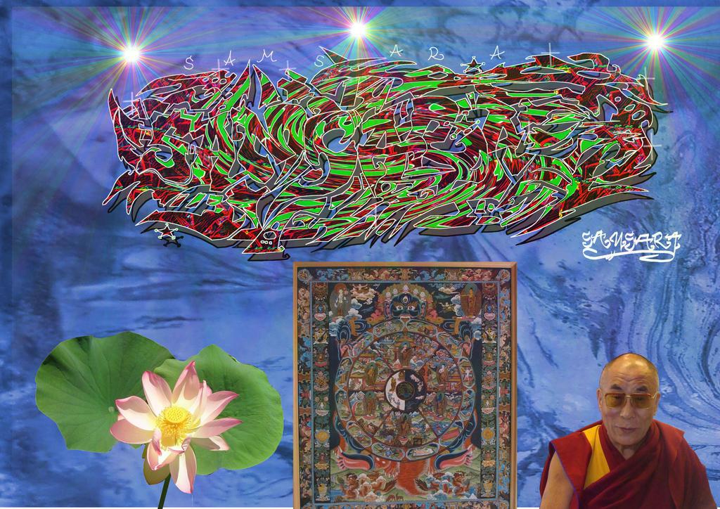 Samsara 5 by Lotuskunst94