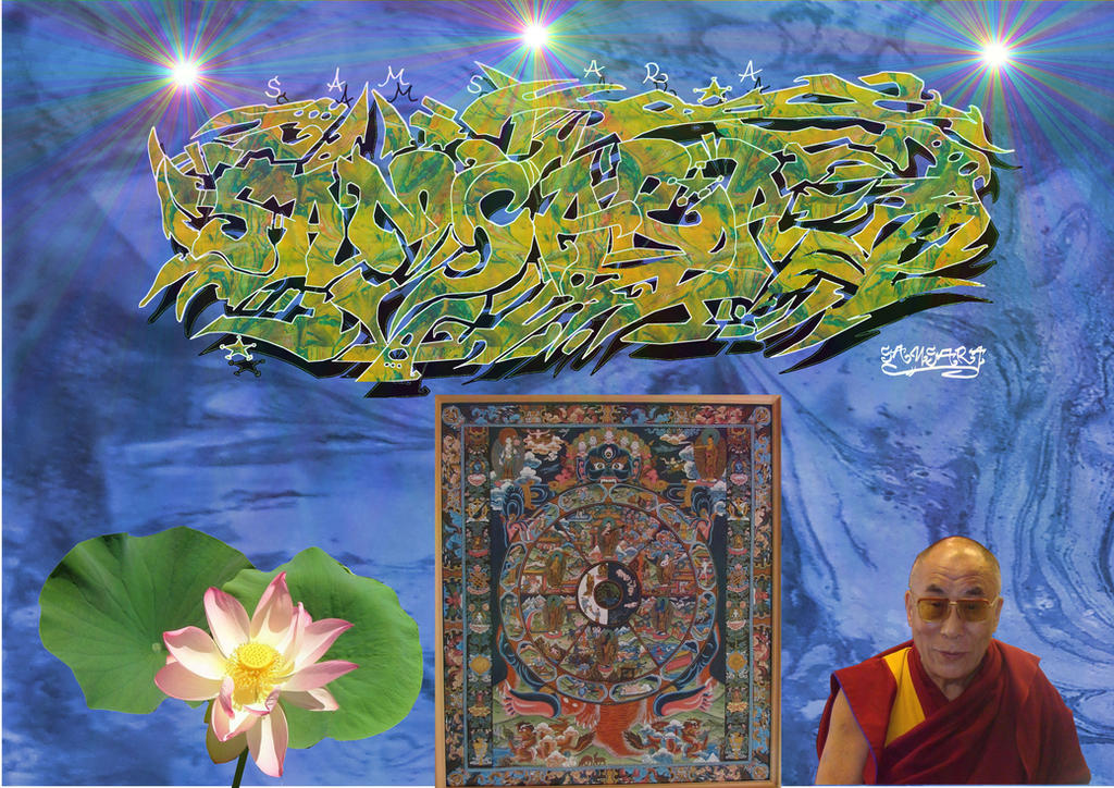 Samsara 6 by Lotuskunst94