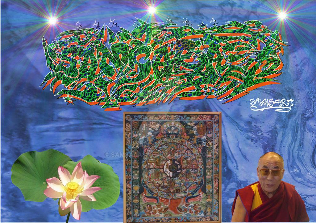 Samsara 7 by Lotuskunst94