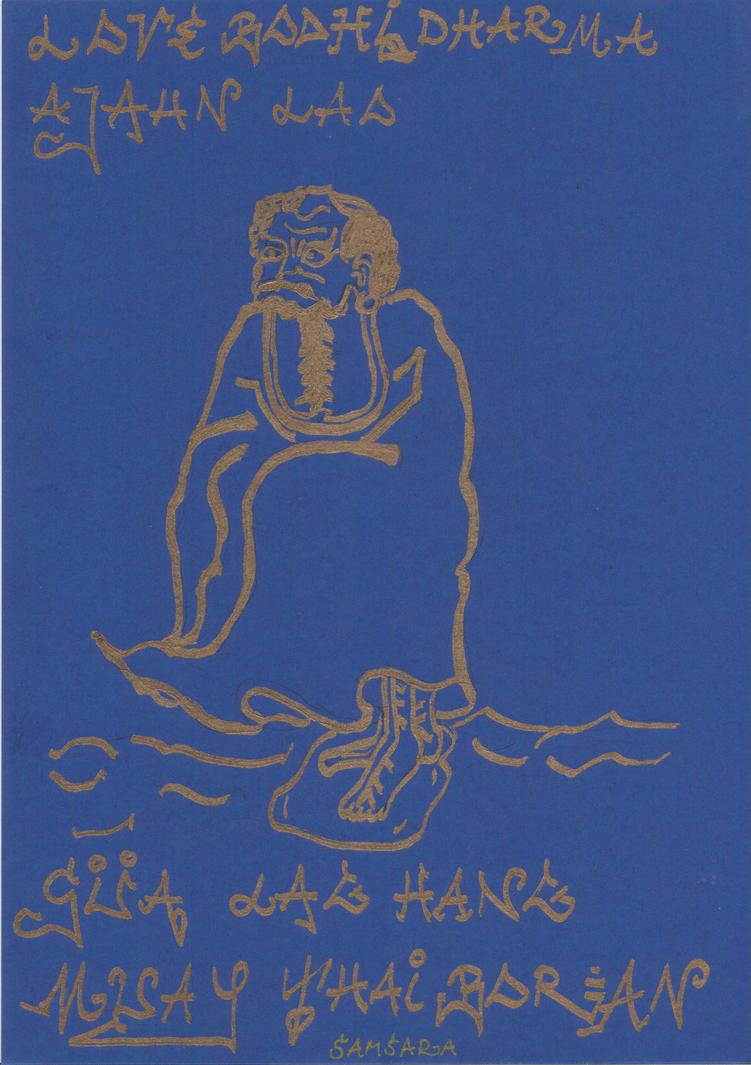 Bodhidharma 1 by Lotuskunst94