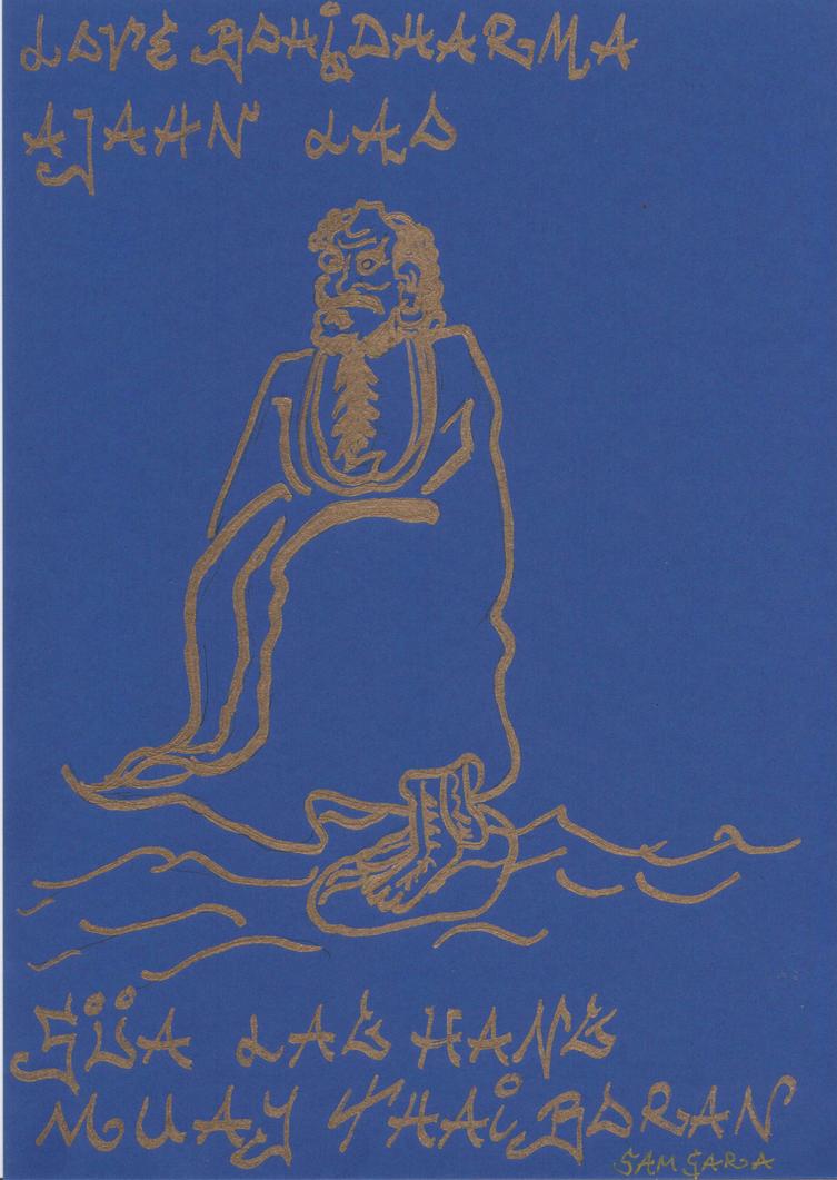 Bodhidharma 2 by Lotuskunst94