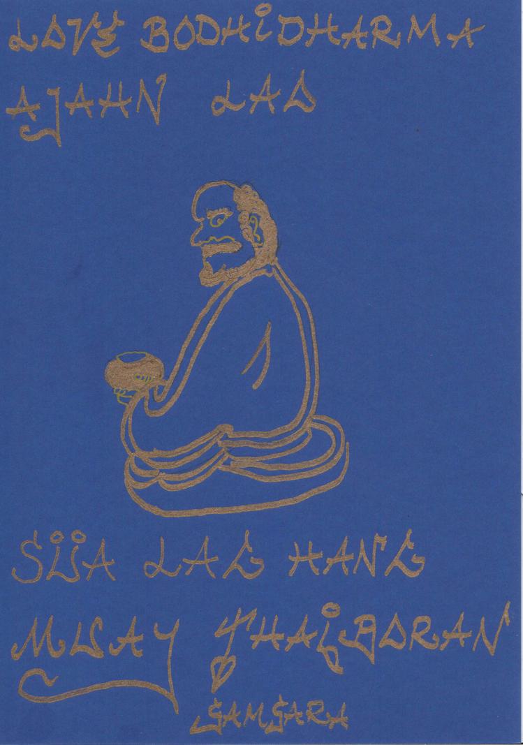 Bodhidharma 3 by Lotuskunst94