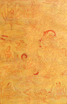 Thangka Padmasambhava, Dorje Drolod
