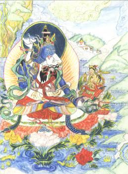 Thangka Padmasambhava, Urgyan Dorje Chang