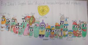 Big Idea's VT Biblical heroes by Magic-Kristina-KW