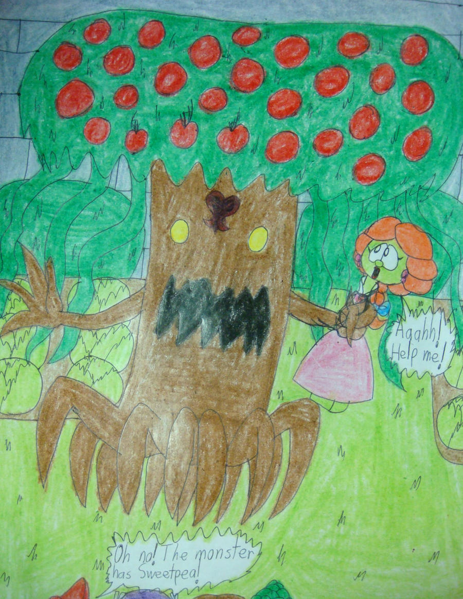 Poison Apple Tree Has Sweetpea By Magic Kristina KW On