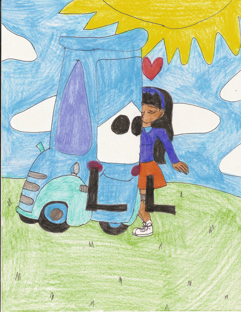 I kissed Guido the Forklift by Magic-Kristina-KW
