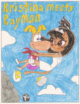 Kristina meets Rayman title comic cover