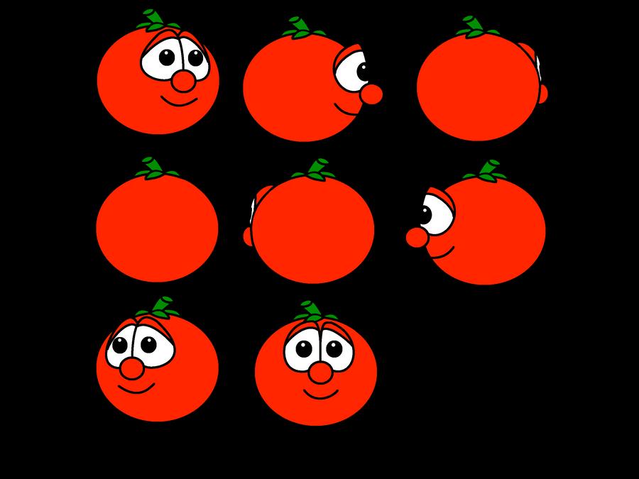 Veggie Tales - Bob the Tomato views by Magic-Kristina-KW on DeviantArt Veggie Tales Larry The Cucumber And Bob The Tomato