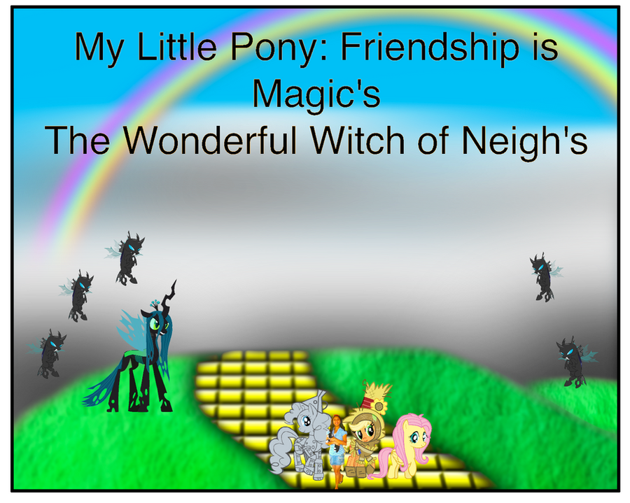 the wonderful witch of neighs by magickristinakw on