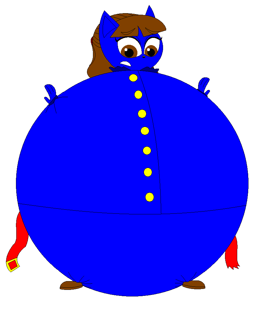Violet Beauregarde in her inflated blueberry form by Magic ...